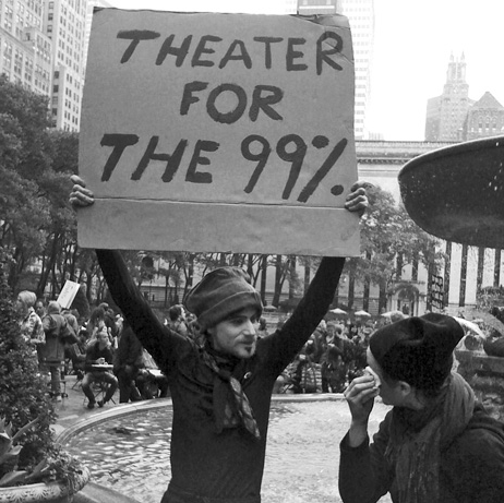 theater at Occupy Wall Street